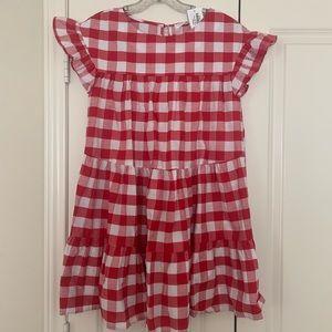 NWT Vestique Red Gingham Dress